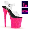 FLAMINGO-808UVG Clear/Neon Hot Pink